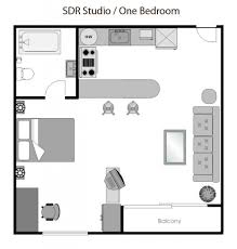 Studio Apartments Floor Plans by One Bedroom Apartment Plans And Designs 17 Best Ideas About Studio