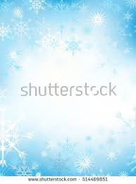 christmas background snowflake border stock vector 234465052