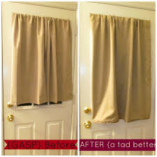 door curtain panel nicetown space solution extra large grommet top