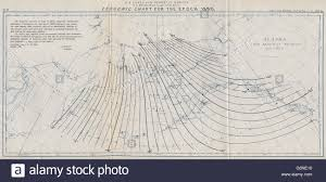 magnetic declination map alaska isogonic chart for 1890 magnetic declination bering stock