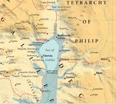 Gennesaret Map Paper 155 Fleeing Through Northern Galilee Opad One Page A