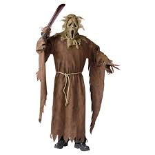 scarecrow halloween mask ghostface scarecrow costume 193879 costumes at