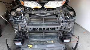 ford focus third gen front bumper removal how to guide mk3 2011