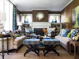 incredible blue and green living room green cottage living space
