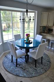 Round Blue Rugs Blue Rug Tags Contemporary Round Kitchen Rugs Extraordinary