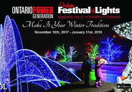 festival of lights niagara falls winter festival of lights elocalpost niagara falls