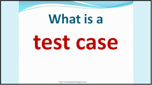 what is test case examples youtube