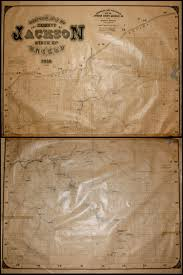 Oregon Map Of Counties by Official Map Of The County Of Jackson Oregon 1910 Compiled And