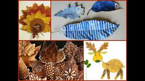 fall leaf craft ideas leaves crafts for kids and adults youtube