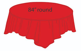 pink round table covers red 84 inch round tablecloths tablecovers plastic wholesale round