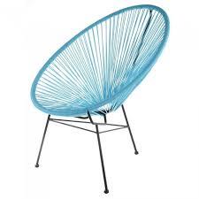 siege jardin fauteuil de jardin design scoobidoo couleur ble achat vente