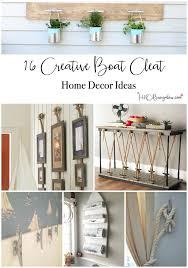 diy nautical home decor 16 super creative boat cleat decorating ideas h20bungalow
