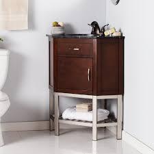 Corner Bathroom Vanities And Sinks by Karstark Corner Bath Vanity Sink W Marble Top Southern
