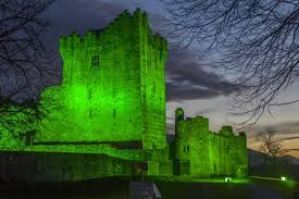 revealed the buildings that will u0027go green u0027 for st patrick u0027s day