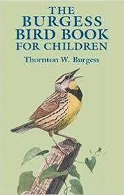 the burgess bird book for children dover children s classics