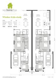 wide block house plans