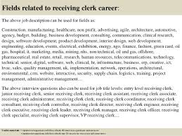 Receiving Clerk Job Description Resume by Clerk Resume Sample Impression Sample Resume Warehouse Inventory