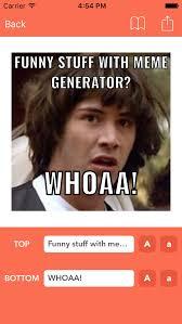 Meme Generator App Ios - meme generator instarage make memes now and edit your photos app