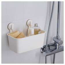 stugvik basket with suction cup ikea