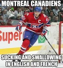 Montreal Canadians Memes - 92 best habs suck images on pinterest hockey ice hockey and field