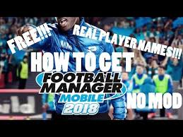 real player free for android how to get fmm2018 free real player names android
