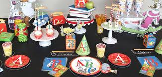 dr seuss birthday party supplies dr seuss s abc birthday express