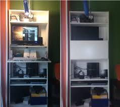 Mini Bar Bureau Foto De Stand Up Billy Bureau Or Mini Bar Ikea Hackers