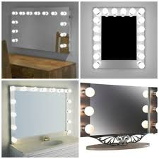 makeup vanity with led lights mirrors trends decoration makeup mirror with led lights vanity make