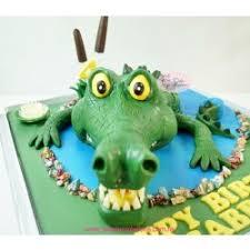 3d crocodile birthday cake animals