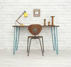 industrial hairpin leg desk 9 best images about stuff to make on pinterest