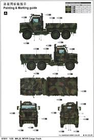 mk23 mtvr nato tricolor camouflage color profile and paint guide