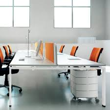 workstation desk wooden contemporary commercial click