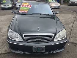 2003 mercedes s500 for sale 2003 mercedes s class s500 4matic awd 4dr sedan in