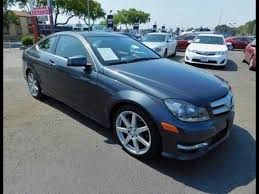 2013 mercedes c class c250 coupe 2013 mercedes c class c250 coupe for sale in south gate ca