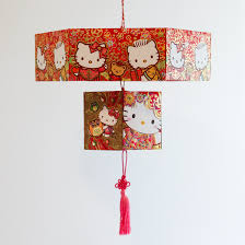 chinese red envelope lantern thirsty for tea
