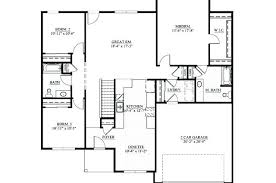 3 bedroom floor plans with garage plans home plans without garages