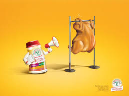 refisal print advert by pérez y villa chicken ads of the world