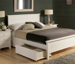 Modern Queen Bed Frame Bed Inviting White Low Platform Bed Pretty White Wood Platform