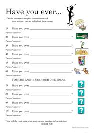 40 free esl conversation practice worksheets