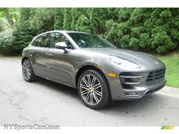 porsche macan grey 2016 porsche macan turbo in agate grey metallic photo 8 b91255