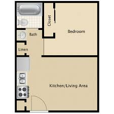 1 bedroom floor plan 1bed 1bath small jpg