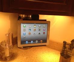 under cabinet ipad tablet mount