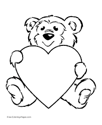 valentine u0027s day coloring page apple heart