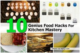 Kitchen Hacks by 10 Genius Food Hacks For Kitchen Mastery New Viral