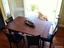 Length Of 8 Person Dining Table by Easy Diy Planked Table Top Cover For Your Existing Table Rachel