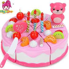 anniversaire cuisine mylitdear jouer alimentaire 37 pcs miniature cuisine gâteau d