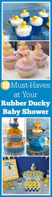 10 Must Haves For Your by 10 Must Haves At Your Rubber Ducky Baby Shower Rubber Ducky Baby