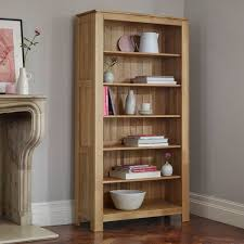 tall narrow oak bookcase galway natural solid oak bookcase living room furniture