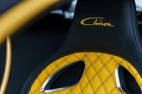 yellow bugatti first bugatti chiron in u s delivered at pebble beach photo