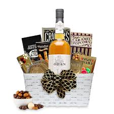 scotch gift basket buy oban 14 year scotch whisky gift basket online